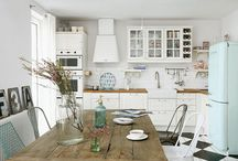 kitchen / kitchen interior, wares and decor I like or just find inspirational