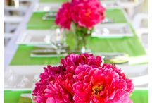 Pink & Green Wedding / by The American Wedding