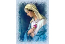 Blessed Virgin Mary Glorious Titles / by Heather Montealegre