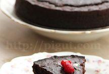 Gâteaux au chocolat et cacao