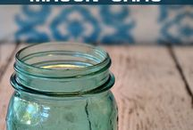 Masion jars / Awesome ideas and diy projects for a masion jar.