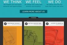 flat webdesign
