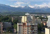 Almaty - Kazakhstan / Clichés de la ville et ses alentours