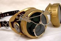 Steampunk Goggles / Find us at http://www.meetup.com/ABQ-Steampunk-Society/ and our forum at http://abqsteampunksociety.boards.net/ / by ABQ Steampunk