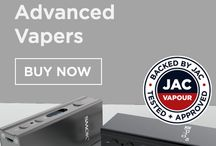 E-Cigarettes for Advanced Vapers / E-Cigarette devices, batteries and coil building supplies for advanced vapers and users wishing to experiment with the limits of e-cigarette technology. At JAC Vapour, experienced vapers who are reasonably familiar with how voltage, resistance and wattage effect the results of vaping can buy high quality e-cigarette kits, and high performance e-cig batteries and tanks with easy to use plug and play features.