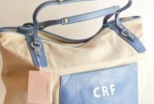 Bags, purses, totes / by Kathy Dublinski