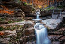 водопады, горные  реки / водопады  и  горные  реки