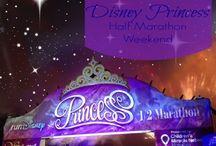 Disney Princess Half Marathon / All about the #runDisney Disney Princess Half Marathon Weekend! #PrincessHalf #Enchanted10K #Princess5K #GlassSlipperChallenge #GSC