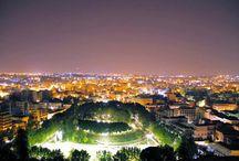 Catania, villa Bellini dall'alto