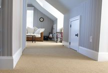 Upstairs carpet