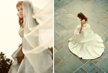 bridal session / ladies in white / by GetzCreative Photography