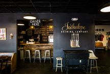 Jackalope Taproom / The Jackalope Brewing Co. Taproom, located at 701 8th Ave. S. in Nashville, TN.