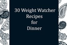 Weight Watchers Recipes / There's gonna be less of me!!!