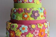 Hippie cupcake ideas