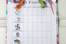 Chore Chart / by Justina Braun