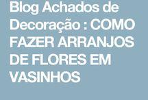 arranjos florais