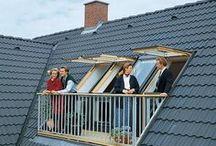 Tetőtéri erkély