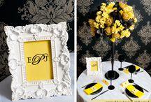 Yellow & black wedding / Żółto-czarne wesele
