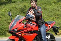 Japanese Moto Girl