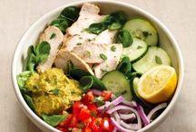 Side Salads, Vegetables,