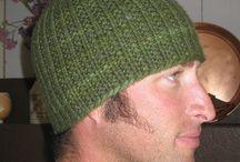 crochet knitting - čepice
