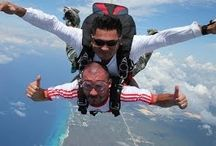 IWTTT - Skydiving in Cancun & Playa Del Carmen Mexico / I promote for Sandos Resorts Vacation Club which offers a 5 night all inclusive stay for attending their timeshare promotion!  http://IWantToTravelTo.com