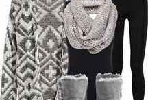 Cute outfits with Scarves