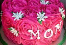 Birthday cakes for mom