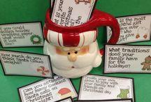 Christmas themed work!