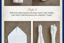 Handtücher faltenHandtuch