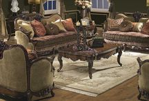 LIVING ELEGANT / Living Rooms and Sitting Rooms