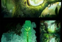 [Game] Rayman series / Concept Art and Environments from Rayman: Origins and Legends