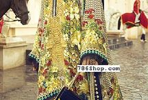 Designer Silk Dresses / Buy Pakistani Indian Designer Silk Dresses online. Custom made and fully stitched Silk clothing. Buy online at www.786shop.com.