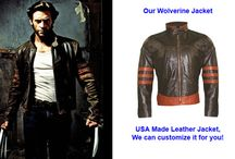 Super Heroes Wear Leather Too! / Leather Jackets that Super Heroes Wear in the Movies and Comics and Television.