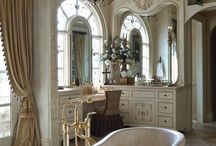 Interior design / Elegant and luxurious