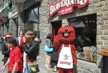 Busy Beav / Our mascot, Beav, gets around! He brings the sweets AND the smiles :)