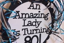 Nan is turning 80!! / Party ideas for Nan's 80th