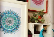 Mandalas / Mandalas by Şira Mercan made by love