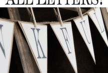 Bunting ideas / Ideas for colours designs and general all things bunting related!!!