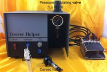 Graver Helper,Pneumatic Jewelry Engraving Machine Single Ended Graver Tool