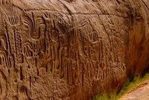 Arte Prehistórico y Prehispánica. / esta es una recopilación de obras de arte de la época prehistórica (paleolítico, mesolítico, neolítico) y prehispánica (antes de la colonización de España).