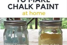 Make chalk paint at home