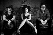 Helena Bonham Carter and Johnny Depp