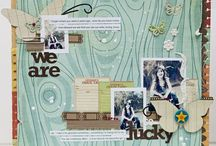 scrapbook layouts / by Gina Vaughan Lideros