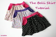 Sew Free: Child - Bottoms / Free sewing tutorials and patterns for children's bottoms (skirts, pants, shorts, etc)