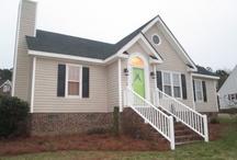 Modular home steps and yard