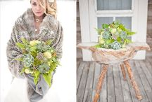 Succulents - weddings  / Green wedding inspiration plus more