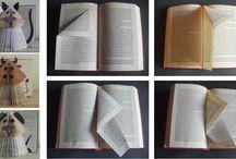 DIY Pliage de livres