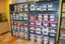 Lab organization ideas