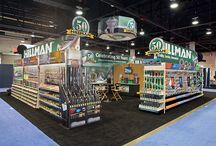 Hillman Trade Show Booth Photos / Our marketing and sales team work hard all year long representing Hillman at our customer trade shows and markets.